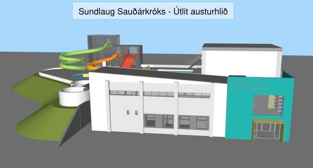 Endurbætur á sundlauginni á Sauðárkrók